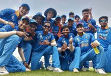 India defeated Sri Lanka by 144 runs to clinch the Under-19 Asia Cup 2018 title.