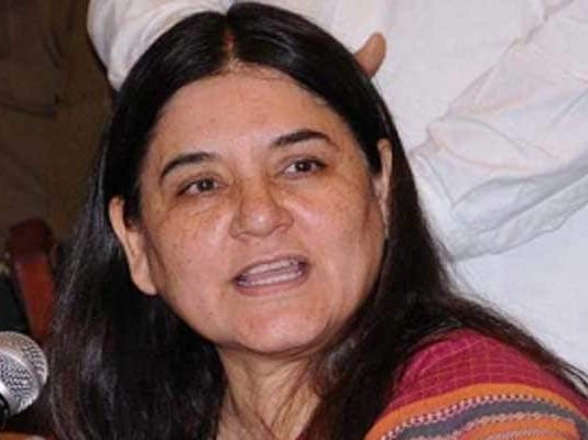 """Men in position of power often do this,"" Maneka Gandhi said"