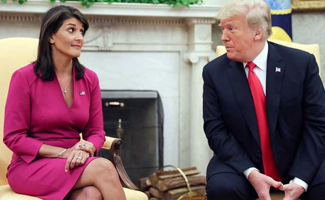 Nikki Haley said her resignation was simply about needing a break after six years.